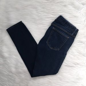 GAP Dark Wash Always Skinny Short Denim Jeans
